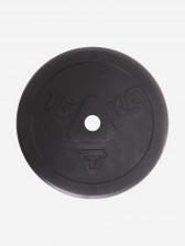Блин стальной обрезиненный Torneo, 15 кг