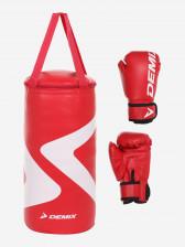 Набор боксерский детский Demix Gift Box, мешок 5 кг и перчатки 4 oz