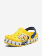 Шлепанцы детские Crocs CrocsFL Minions Multi Clg K