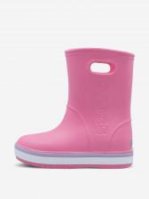 Сапоги утепленные для девочек Crocs Crocband Rain Boot K